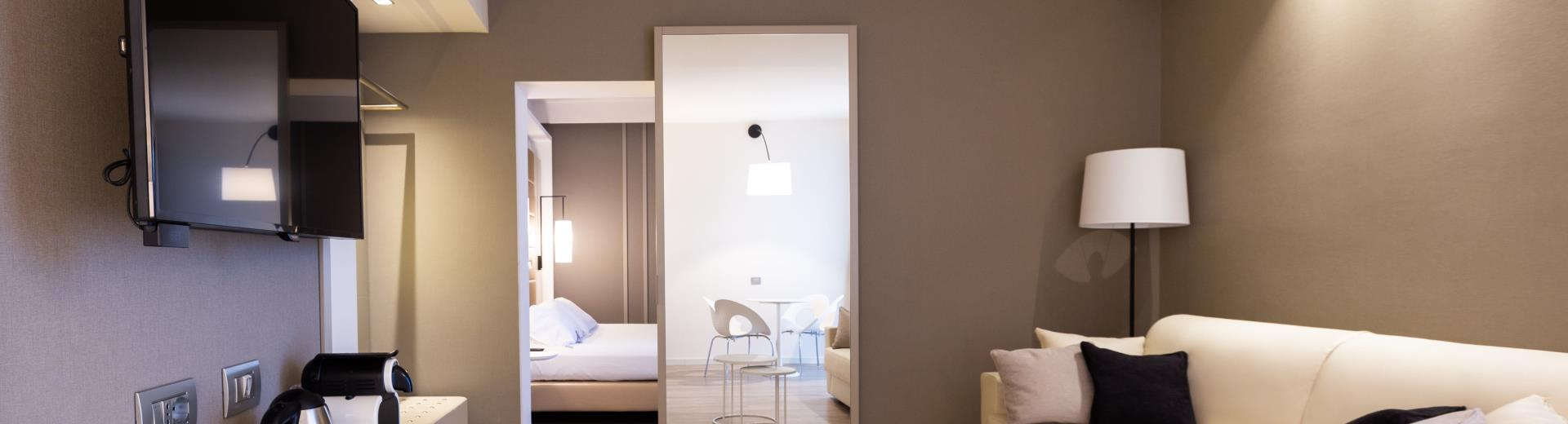 Junior Suite - Tower Hotel Bologna