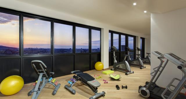 Panoramic view for your workout