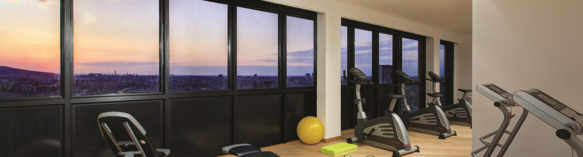 Best Westen Plus Tower Hotel Bologna - Sala Fitness Panoramica
