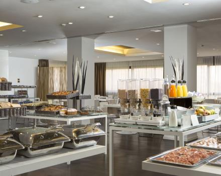A wide buffet breakfast to start full of energy your day!